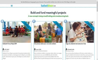 Site internet de Babeldoor