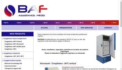Site internet de Baf