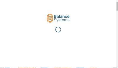 Site internet de Balance Systems France
