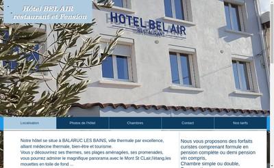Site internet de Hotel Bel Air