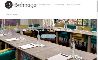 Site internet de Balmaga