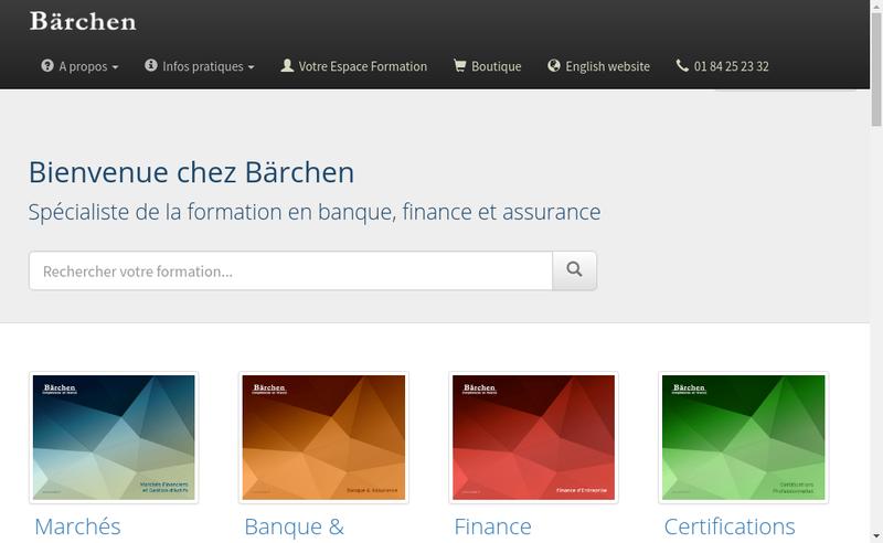 Capture d'écran du site de Barchen Education