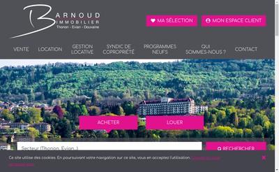 Site internet de Agence Barnoud Sas