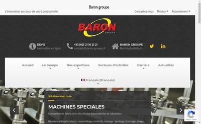 Site internet de Baron Automaton