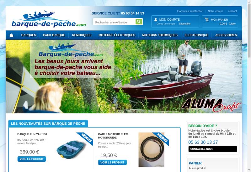 Capture d'écran du site de Euroloisirs 81