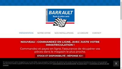Site internet de Barrault