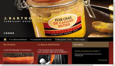 Site internet de Barthouil