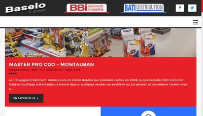 Site internet de Bbi Bricolage Batiment Industrie