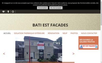 Site internet de Bati Est Facades