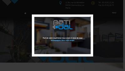 Site internet de SARL Batidal