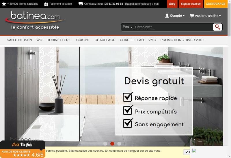Capture d'écran du site de Ogs Distribution