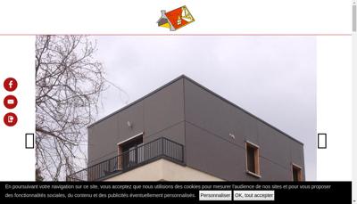 Capture d'écran du site de SAS Thierry Bauer