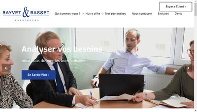 Site internet de Bayvet Basset SA