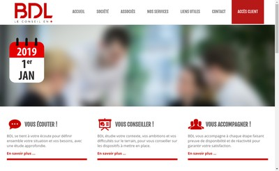 Site internet de BDL Experts