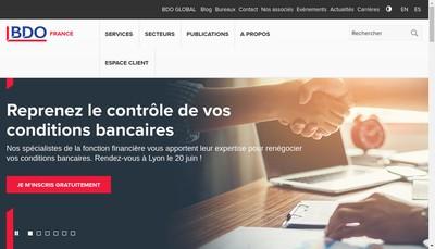 Site internet de Bdo les Herbiers