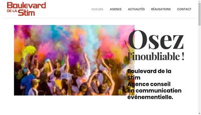 Site internet de Boulevard de la Stim