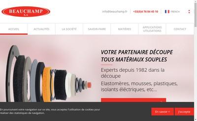 Site internet de Beauchamp SA