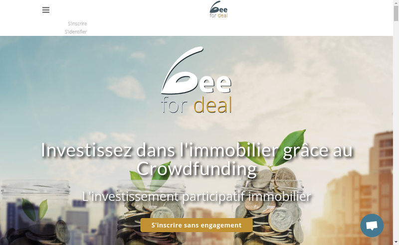 Capture d'écran du site de Beefordeal