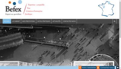 Site internet de Befex