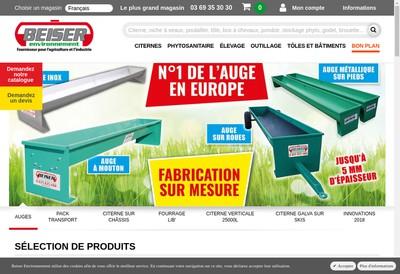 Site internet de Beiser Environnement