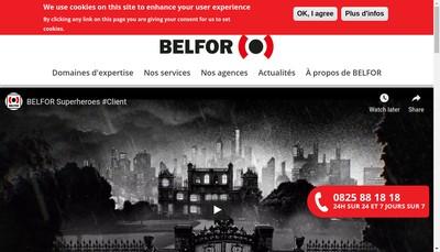 Site internet de Belfor