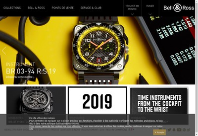 Site internet de Bell & Ross