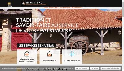 Site internet de Entreprise Benaiteau