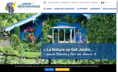 Site internet de EURL Jardin de Berchigranges