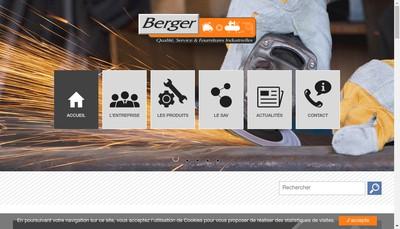 Site internet de Etablissements Berger