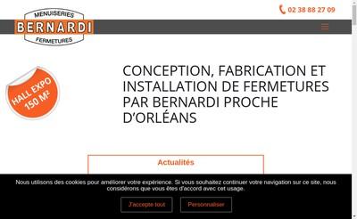 Site internet de Entreprise Bernardi