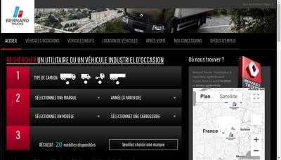 Site internet de Bernard Trucks