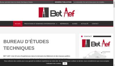 Site internet de Bet Aef