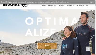 Site internet de Beuchat International SA