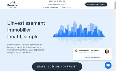 Site internet de Bevouac