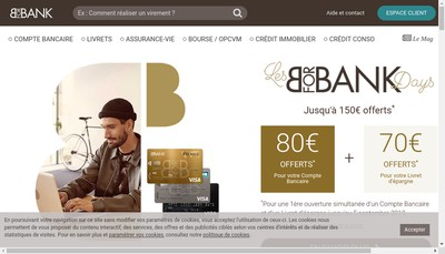 Site internet de Bforbank