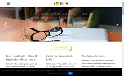 Site internet de Bsl Consulting