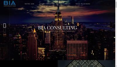 Site internet de Bia Consulting