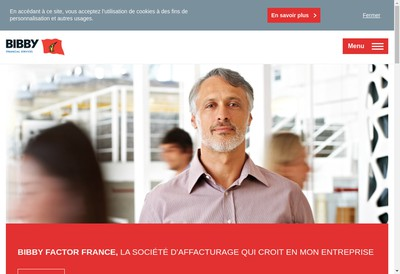 Site internet de Bibby Financial Services