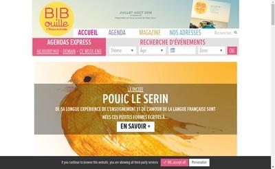 Site internet de Bibouille