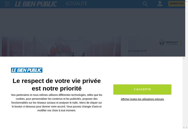 Capture d'écran du site de Est Bourgogne Media
