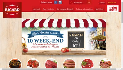 Site internet de Groupe Bigard