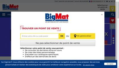 Site internet de Duclos Bois et Materiaux