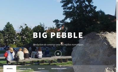 Site internet de Big Pebble