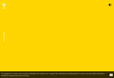 Capture d'écran du site de BIIG