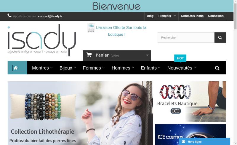 Capture d'écran du site de Laholi