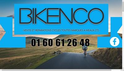Site internet de Bike'N'Co