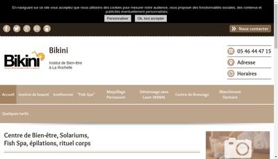 Site internet de Bikini