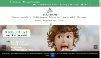 Site internet de Bilecan