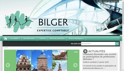 Site internet de Bilger Expertise Comptable