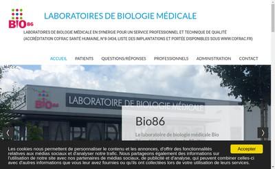 Site internet de Bio 86